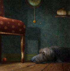 Пёс Тоби — забавный герой иллюстраций британца Stephen Hanson - Ярмарка Мастеров - ручная работа, handmade