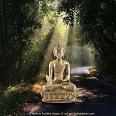 Medizin Buddha Statue Messing 20cm 1,6kg im November Angebot #lichterleben #buddhastatue