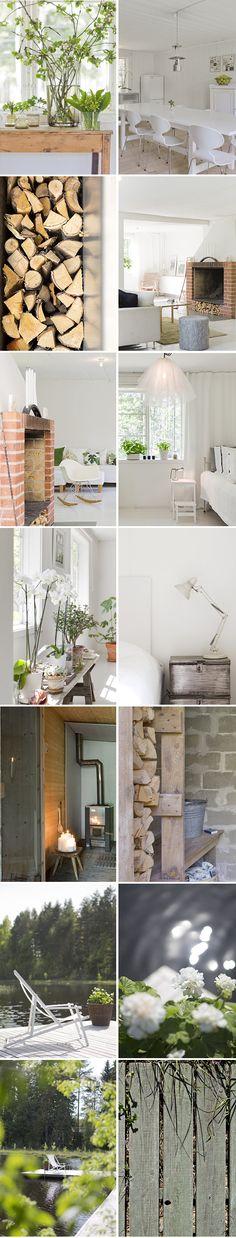 DECOR & HOUSEPLANTS :: Collection of vignettes. | #houseplants #whites