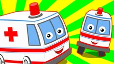 Ambulance Song | Nursery Rhymes For Kids And Childrens | Vehicle Song