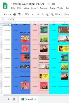 Content Plan Social Media Calendar, Content, How To Plan