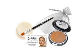 Best Complete 2 Step Skin Care Concealer Makeup Kit  Alexis Vogel Delete Delete Kit  Includes Delete Delete Under Eye Concealer Duo Compact with Angel Puff and Concealer Brush  Available in 3 Shades  Conceals Acne Dark Circles Bags Under Eyes Wrinkles Crows Feet and Other Skin Blemishes  Professional Concealer with Concealer Brush *** For more information, visit image link.