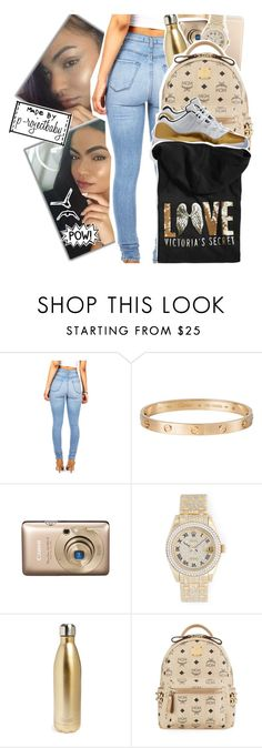 """« walkin like i got money, imma do the money walk »"" by p-rojectbaby ❤ liked on Polyvore featuring Cartier, Rolex, S'well, MCM and Victoria's Secret"