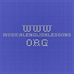www.musicalenglishlessons.org