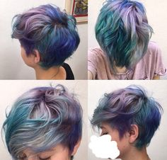 Concept: get hair cut something like this. Gurl you've been wanting to do this for a long time. Who cares if it looks tumblr af??? Do YOU.