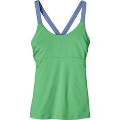 """Whether your space is in the studio, sand or van, the women's #Patagonia """"Innerspace Tank"""" is there to support you. Yoga tank top made with a super soft blend of polyester/spandex matte, knit fabric that wicks moisture and is fast drying. Price ---- > $38.50 -  $55.00  ON SALE - up to 30% Off !! #ecoactiveyou #organic_clothingbrands"""