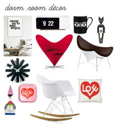 """""""Vitra on Stage @nc4you"""" by nc4you on Polyvore featuring interior, interiors, interior design, Zuhause, home decor, interior decorating, Vitra, vitra, NC4you und dormroomstyle"""
