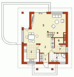 Modelos de casas de dos pisos con sus planos Sims, Floor Plans, Two Story Houses, Country Houses, Electrical Circuit Diagram, Build House, Trendy Tree, Mantle