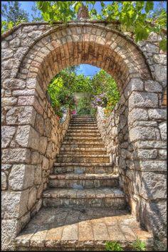 steps, Corfu, Greece