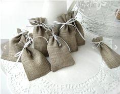 Set of 50 Eco Rustic Wedding Favor $58