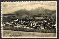 Slovensko, Kežmarok, Celkový pohled, cca 1935POHLEDNICE - Pohlednice Vineyard, Mountains, Nature, Travel, Outdoor, Viajes, Outdoors, Naturaleza, Destinations