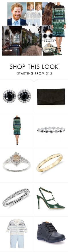 """""""Attending a Sunday Church Service in Rye with Harry and the boys"""" by charlottedebora ❤ liked on Polyvore featuring Rachel Trevor-Morgan, Hermès, Blue Nile, Valentino and Geox"""