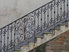 ironwork stair railings - Google Search