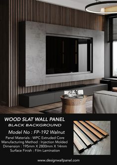 Tv Feature Wall, Feature Wall Design, Wall Panel Design, Tv Wall Design, Wood Feature Walls, Tv Wall Panel, Wood Panel Walls, Tv Walls, Wooden Walls