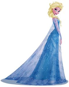 Frozen: Imágenes de Elsa o Clip Art.