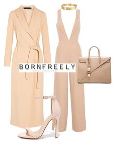 """""""Untitled #1085"""" by bornfreely on Polyvore featuring The Row, Yves Saint Laurent, Liliana and Lele Sadoughi"""