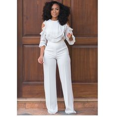 This Week In Style - Nudes, Colour Pop & Minimalists - The Curly Christian Girl All White Outfit, White Outfits, Classy Outfits, Cool Outfits, Diva Fashion, Look Fashion, Autumn Fashion, Fashion Outfits, Womens Fashion