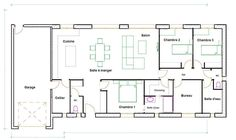 plan de maison 150m2