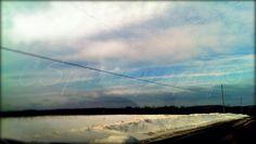 Snowy days takes the blues away