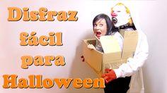 El mejor disfraz de Halloween de última hora, disfraces rapidos y faciles con cosas de casa - Isa ❤️