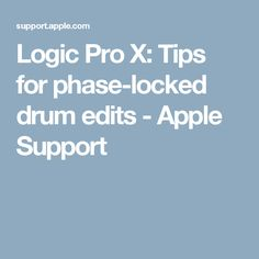 mastering in logic pro x tips