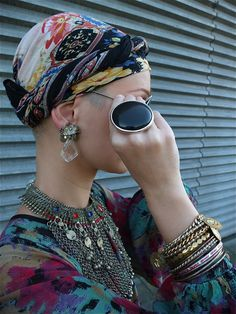 That ring... Like Huge black hole in the hand. Hippie bohemian gypsy style accessories and jewelry. For more follow www.pinterest.com/ninayay and stay positively #pinspired #pinspire @ninayay