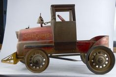 Early Casey Jones Child's Pedal Car Train