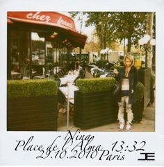 Etienne Jeanson  Polaroid Project Nina Gosse