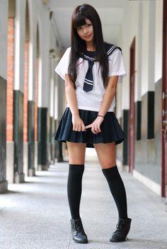 Best 11 Best 8 Image gallery – Page 439663982369804672 – Artofit – SkillOfKing.Com – SkillOfKing. Japanese School Uniform Girl, School Uniform Fashion, School Girl Japan, School Girl Dress, School Uniform Girls, High School Girls, Beautiful Japanese Girl, Beautiful Asian Girls, Japanese Sexy