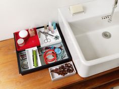 Bring order to your clutter with the Stack Stack Tray!