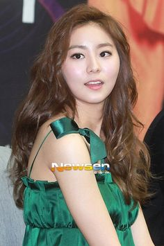 Popular After School member and recently turned actress UEE, revealed that she received preferential treatment from her company for he… Uee After School, Nine Tailed Fox, Orange Caramel, Yu Jin, Korean Star, Drama Film, Pledis Entertainment, You're Beautiful, Korean Singer