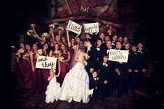 Awesome Bridal Party Idea!