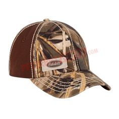 PETC600314-00 Peterbilt Camo Front Cap with 6 Panel Design Peterbilt c95cd1e4a26e