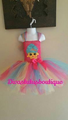 shopkins inspired tutu dress cupcake queen by Divastutusboutique