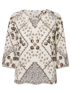 Pretty blouse from VERO MODA. Style with jeans and a cool bomber.