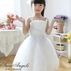 2685f0672e828b 2015 High Fashionable Formal Birthday Dress For Little Girl Cute Communion  Wedding Gowns For Child Vestidos · Flower ...