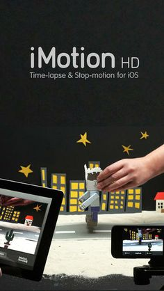 iMotion app for stop motion movies; iPhone Screenshot 1