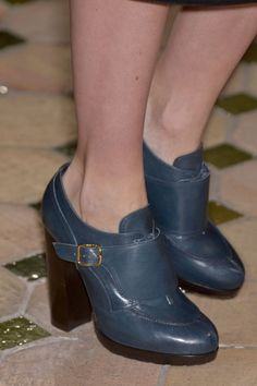 Hermes Fall 2013-These remind me of a pair of shoes I had in the 90's that I unfortunately let go of.