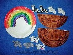 MANUALIDADES PARA LA ESCUELA DOMINICAL: El Arca de Noé