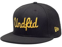 UNDEFEATED x NEW ERA「Chainstitch」59Fifty Fitted Baseball Cap