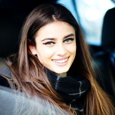 Taylor Marie Hill outside Fendi Fall 2015 show, Milano. Source: alixdebeer instagram.