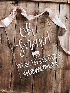 Instagram hashtag sign acrylic sign acrylic instagram Cute Wedding Ideas, Wedding Games, Wedding Crafts, Wedding Events, Our Wedding, Wedding Decor, Hastag Wedding Sign, Wedding Signage, Wedding Mirror
