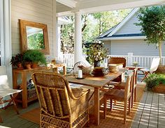 photos of country rustic porches | Rustic Small Porch Decoration Idea