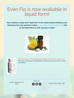 Even Flo is now available in liquid form!