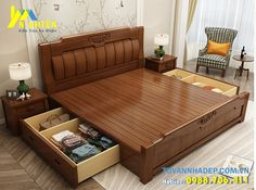 Simple Bed Designs, Bed Designs With Storage, Wooden Sofa Set Designs, Wood Bed Design, Bed Frame Design, Door Design, Living Room Partition Design, Living Room Sofa Design, Bedroom Closet Design