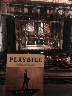 I'm gonna be in the room where it happens, just you wait...