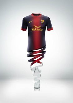 Looks great! It´s the new FC Barcelona Shirt for the next season (2012/2013)