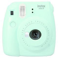 87beacc693f Fujifilm Instax Mini 9 Camera - Ice Blue (16550643)