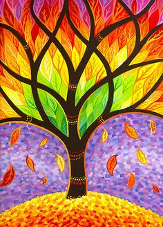 """""""Autumn- Releasing the Old"""" by Elspeth McLean 