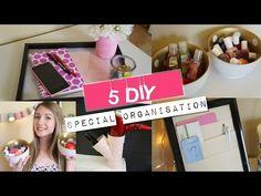 5 DIY spécial ORGANISATION ! | Faciles et rapides! - YouTube